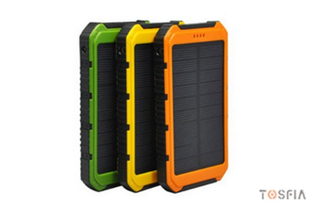 10000mA Solar Power Bank